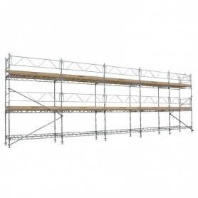 Unihak Ställning Komplett 12 x 6 meter 140Trall 2 bomlag. 8500-600120T2140 Home