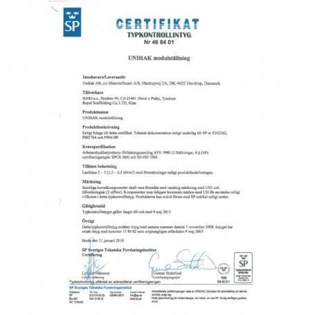 Unihak Console förlängning 30 cm. 8125-030 Byggnadsställningar
