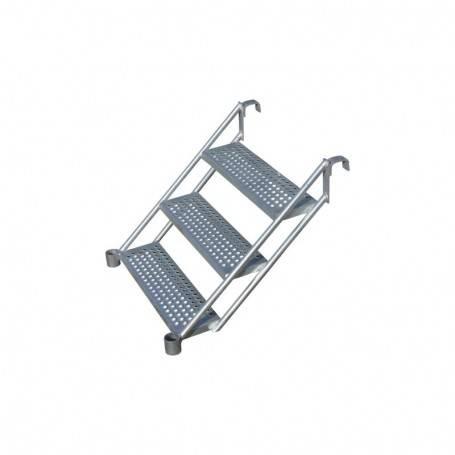 Unihak starttrappa / Instegstrappa 1 meter stål. 8000-032 Byggnadsställningar