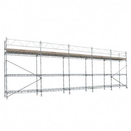 Unihak Ställning Komplett 15 x 6 meter 195