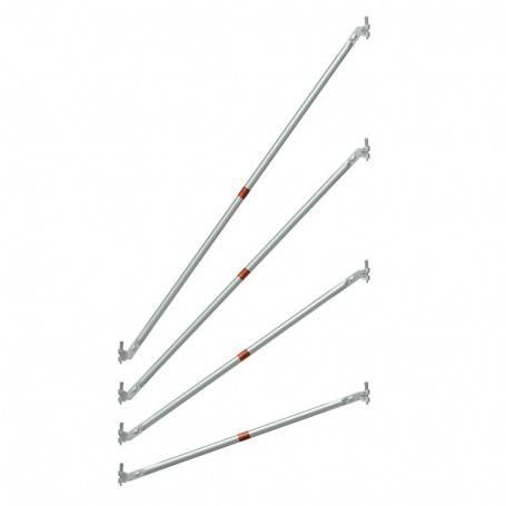 Diagonal 1,09x2,0 m till modul - Uniring