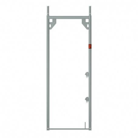 Ram 0,73x2,00 m aluminium - Uniram