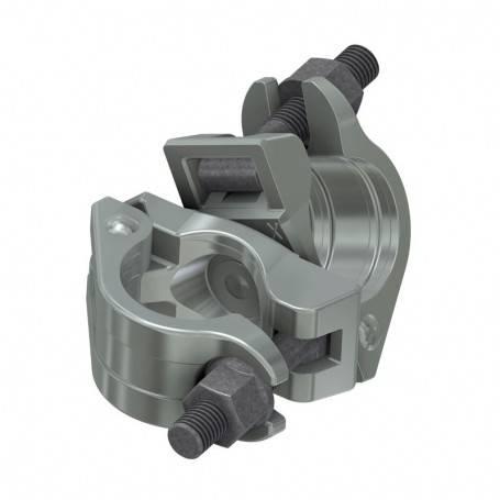 Koppling, vridbar, järn Ø 48/48 mm - Unihak Byggställning