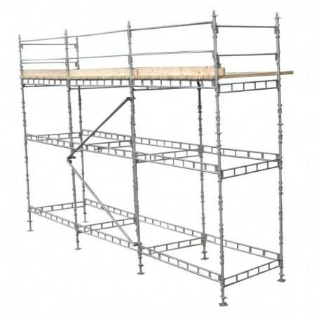 Unihak längdbalk 300 cm. 8150-300 Byggnadsställningar