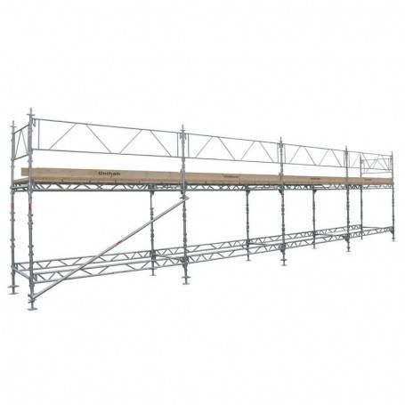 Unihak Ställning Komplett 12 x 4 meter 195 Trall