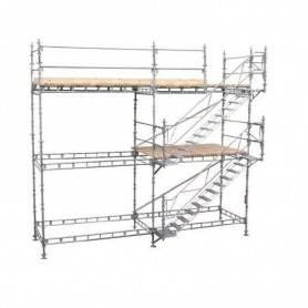 Unihak trapptorn komplett 2 Meter stål.