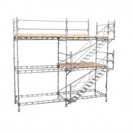 Unihak trapptorn komplett 4 Meter stål.