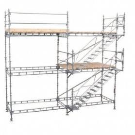 Unihak Alu trapptorn komplett 4 Meter. 7000-400Alu Home