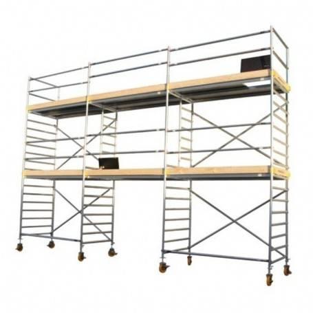 Custers Mobila arbejtsplattformar 6 x 7.5 meter. 1100-600750 Rullställningar
