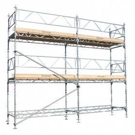 Unihak Ställning Komplett 6 x 6 meter 195 Trall